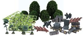 Элементы ландшафта для дизайна игрового стола